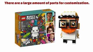 Lego Brick Headz Go Brick Me 41597 Review