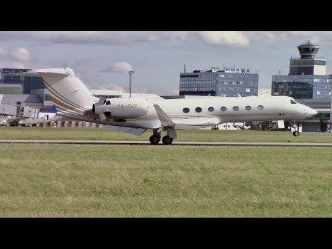 Elegant PRIVATE JETS! | General Aviation | Plane Spotting at Prague (PRG)