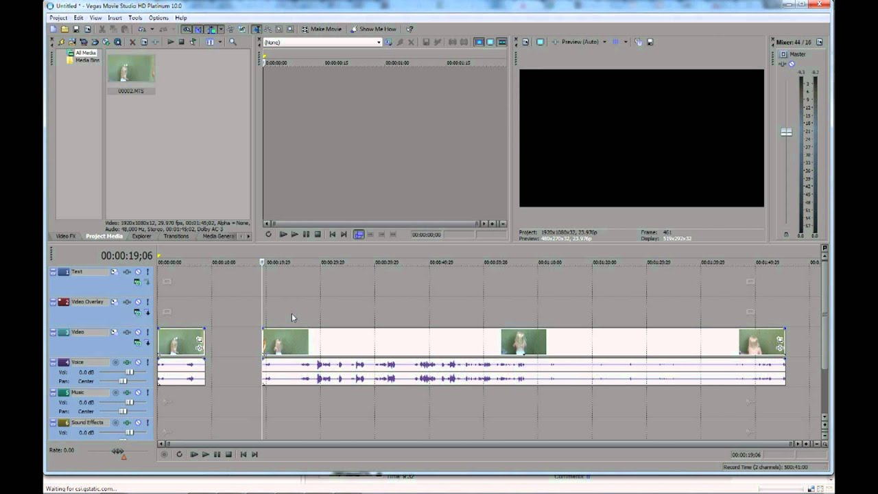 Audio For Video Vegas Pro 16-64-bit Video And Audio Editing Good Taste