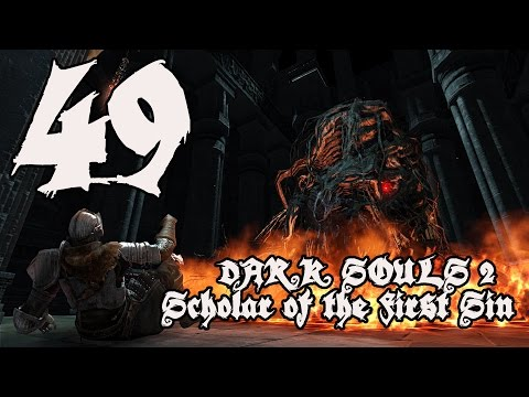 Dark Souls 2 Scholar of the First Sin - Walkthrough Part 49: Scorching Iron Scepter