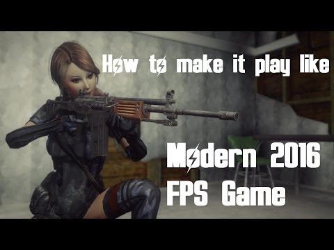 Fallout New Vegas - How to Make it Play like a Modern 2016 FPS Game
