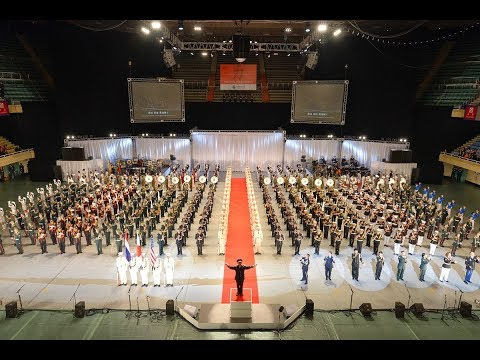 Live recording Japan Self Defense Forces Marching Festival 2013