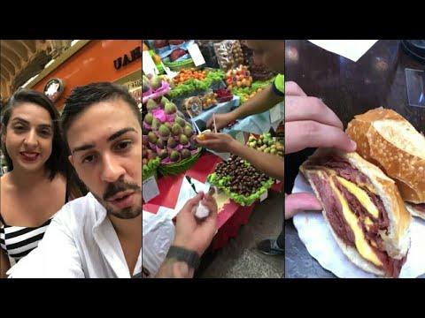 Carlinhos Maia conhece o Mercado Municipal de São Paulo