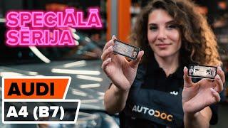Video pamācības par Audi A4 B5 apkope