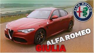 Alfa Romeo Giulia - маленькая Ferrari, динамика альфа ромео джулия - автообзор 2020
