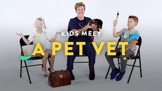 Kids Meet a Pet Vet | Kids Meet | HiHo Kids