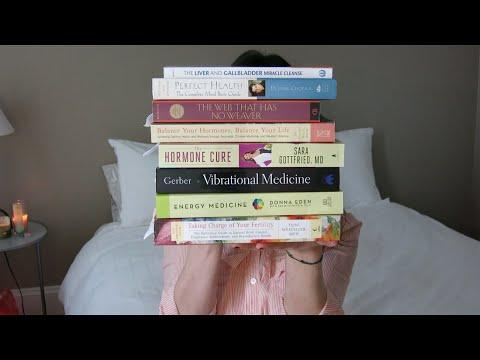 Bookshelf Tour: Natural Beauty, Alternative Health, Cookbooks/Nutrition, and Spirituality Books
