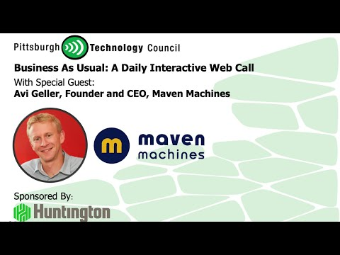 Maven Machines Founder Goes Live on Business as Usual