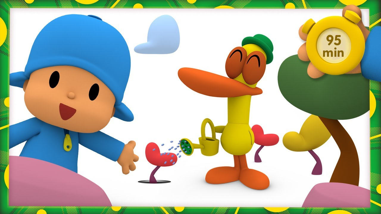 🌱 POCOYO AND NINA - Growing a Tree [95 minutes]   ANIMATED CARTOON for Children   FULL episodes