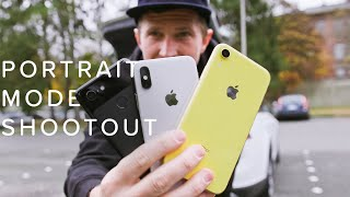 iPhone XR vs XS vs Pixel 3 | Portrait Mode Shootout