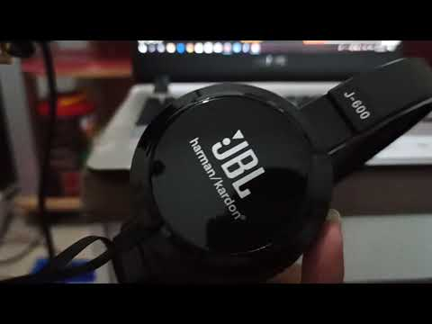 Review Headset headphone JBL j600 harmankardon. Bass trible mantab rekomended, midle low
