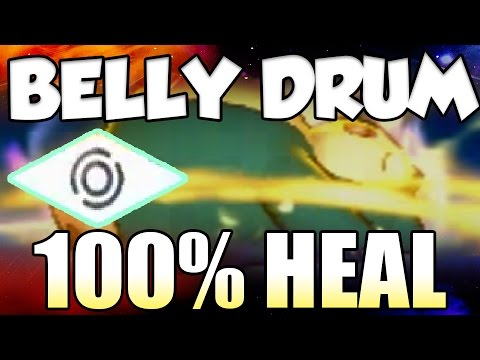 BELLY DRUM HEALS YOU?!? Z-MOVE STATUS MOVES OP!