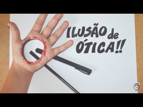 ILUSÃO DE ÓTICA - MÃO FURADA 3D II