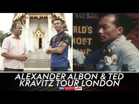 Alexander Albon & Ted Kravitz Discover The Story Of F1's First Thai Driver 🇹🇭
