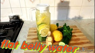 Flat Belly-Diet Water Drink Recipe (DETOX WATER LOSE WEIGHT TODAY)