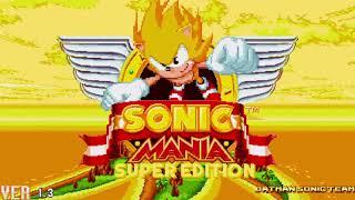 Super Sonic Mania: Boss Rush Edition    4K Special Walkthrough (720p/60fps)