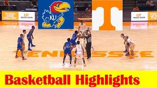 Kansas vs Tennessee Basketball Game Highlights 1 30 2021