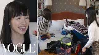 Marie Kondo Declutters a Vogue Editor's Closet   Vogue