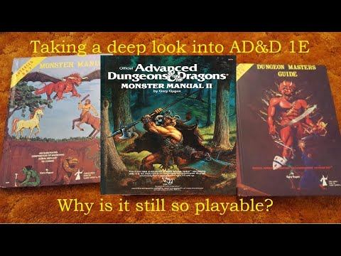 ADu0026D 1E:  Monster Manual II,
