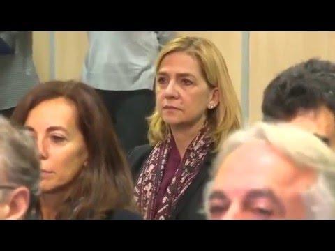 Spain's Princess Cristina on trial for tax fraud