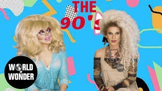 Enjoy the video? Subscribe here! http://bit.ly/1fkX0CV Remember the 90s? Neither do we. But Trixie & Katya do their best to reminisce on the past. RuPaul's ...