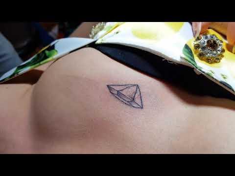 small diamond tattoo BY Yudy Rsd 016787838