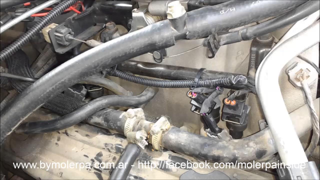 """Jeep Grand Cherokee Descachización nafta y GNC, Luis """"Albiazul"""""""