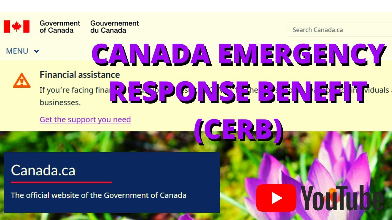 How To Apply Canada Emergency Response Benefit (CERB ...