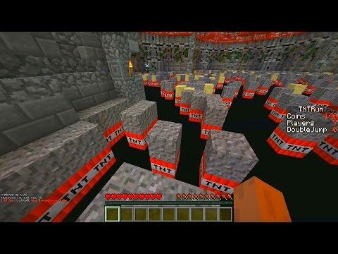 Minecraft Mini-Game: TNT RUN CHALLENGE #1 with Vikkstar, OpTic Nadeshot & BigTymer