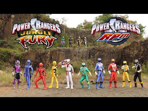 Power Rangers RPM/Jungle Fury Team Up