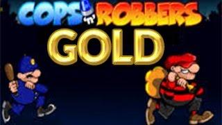 Cops n Robbers Gold £50 Mega Games High Roller Slots