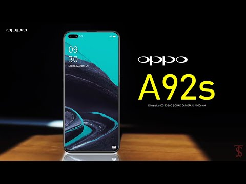 Oppo A92s Price, First Look, Design, Specifications, 8GB RAM, Camera, Features