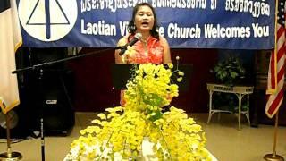 Lao Song, Lao Christian Song, good news for Laos, Dai Hian Phra Tharm