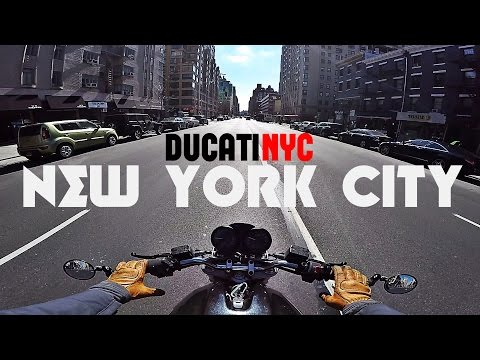 New York City - A Love Song and a Wild Run - Ducati NYC v211