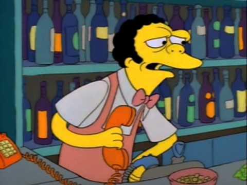 Trotes do Bart para o Moe