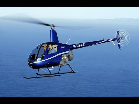20 Minute Helicopter Lesson In A Robinson R22 @ Costock Heliport