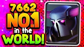 "#1 in the WORLD w/ PEKKA SURPRISE Deck! ""No Bad Matchups!"""