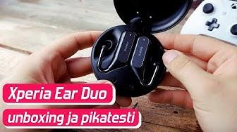 Sony Xperia Ear Duo - unboxing ja pikatesti