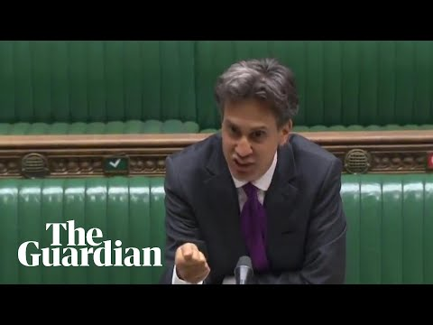Ed Miliband Rails Against Controversial Internal Market Bill In Parliament
