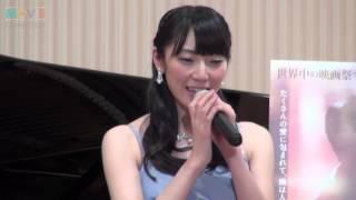 【おまけ動画】AKB48松井咲子が背面ピアノを披露 http://youtu.be/wX4yV...