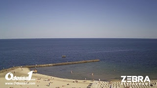 Odessa1.com - Черное море в прямом эфире, «10-я станция Фонтана», Одесса, Black Sea, Odessa. Live