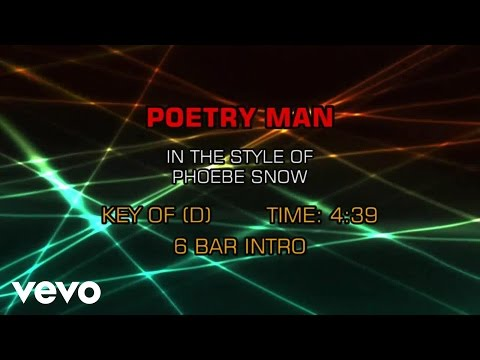 Phoebe Snow - Poetry Man (Karaoke)