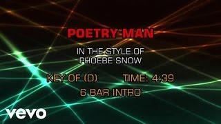 Phoebe Snow - Poetry Man (Karaoke)
