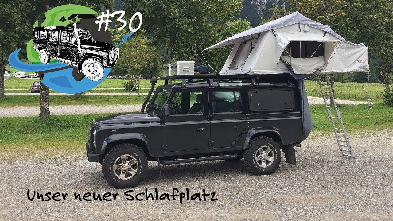 Campwerk Dachzelt Defender Zum Camper Land Rover