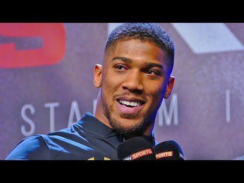 Anthony Joshua WEIGH IN interview with Sky Sports | Anthony Joshua v Wladimir Klitschko