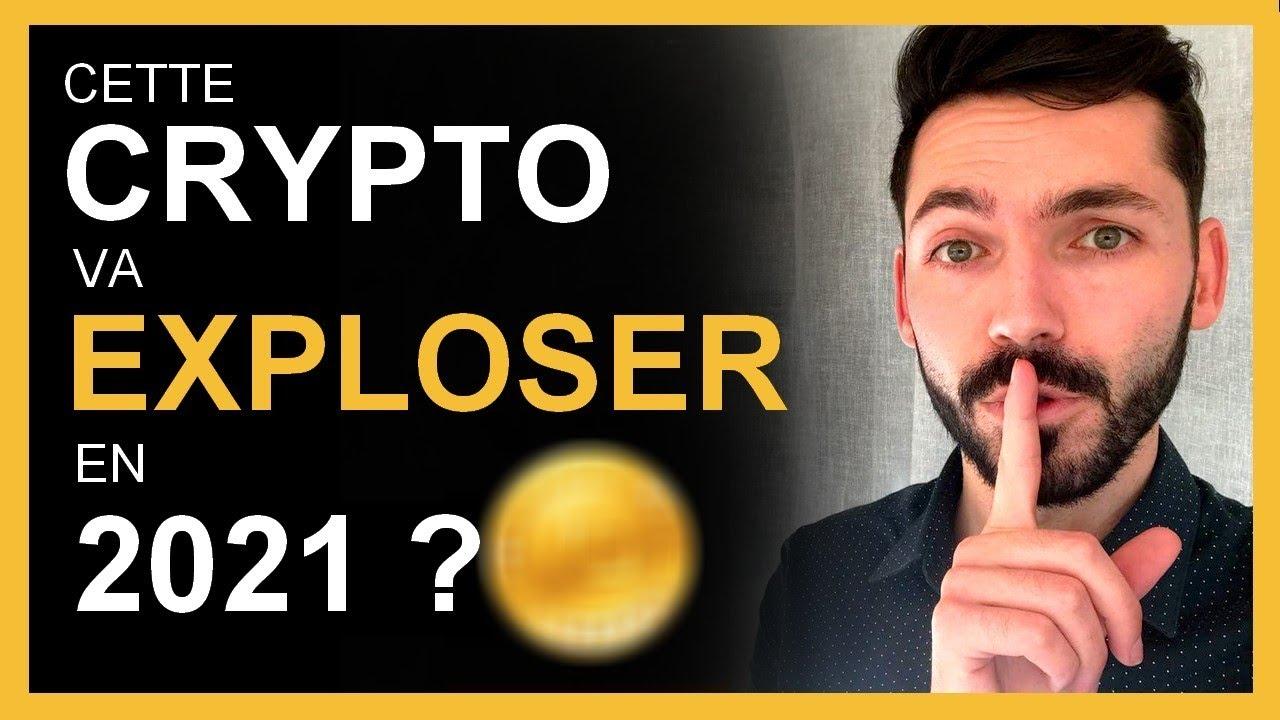 Cette crypto monnaie va exploser en 2021 ? Meilleur crypto monnaie pour investir : PAS bitcoin