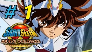 Let´s Play Saint Seiya Brave Soldiers Part 1 (German/Deutsch) - Aldebaran´s unglaubliche Stärke