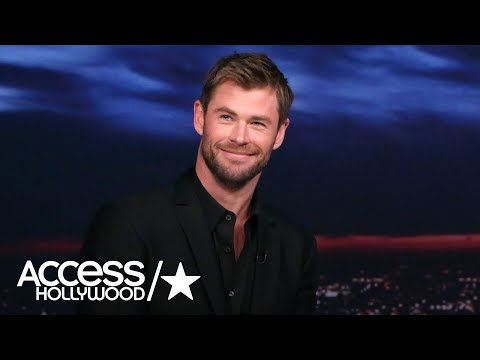 Jimmy Fallon Attempts 'To Break' Chris Hemsworth With Silly Antics | Access Hollywood