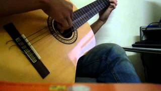 Dừng bước giang hồ ( guitar classic)
