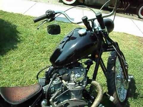 1978 Yamaha XS650 Drop Seat Bobber - YouTube